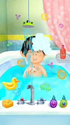 iPhone、iPadアプリ「Pepi Bath」のスクリーンショット 4枚目