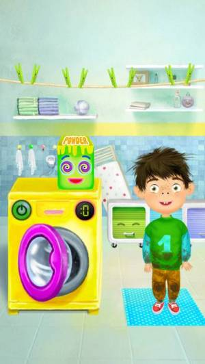 iPhone、iPadアプリ「Pepi Bath」のスクリーンショット 5枚目