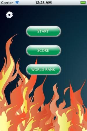 iPhone、iPadアプリ「最速フリック」のスクリーンショット 1枚目