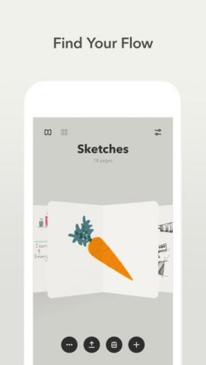 iPhone、iPadアプリ「Paper — FiftyThree」のスクリーンショット 2枚目