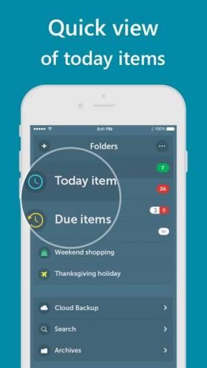 iPhone、iPadアプリ「Orderly - Simple to-do lists」のスクリーンショット 3枚目