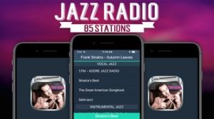 iPhone、iPadアプリ「ジャズラジオ」のスクリーンショット 1枚目