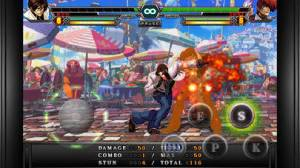 iPhone、iPadアプリ「THE KING OF FIGHTERS-i 2012」のスクリーンショット 4枚目