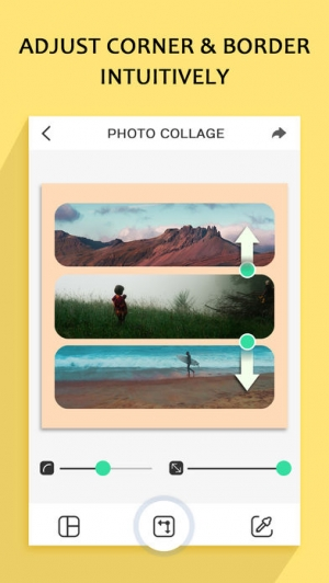 iPhone、iPadアプリ「Photo Collage – Frame Editor and Perfect Camera」のスクリーンショット 2枚目