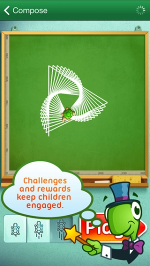iPhone、iPadアプリ「Move The Turtle. Programming For Kids」のスクリーンショット 3枚目