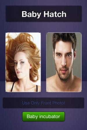 iPhone、iPadアプリ「将来の赤ちゃんの画像」のスクリーンショット 1枚目