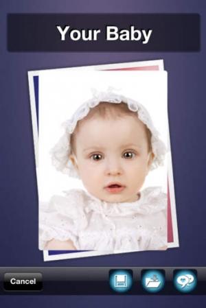 iPhone、iPadアプリ「将来の赤ちゃんの画像」のスクリーンショット 5枚目