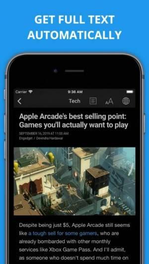 iPhone、iPadアプリ「Newsify: RSS Reader」のスクリーンショット 3枚目