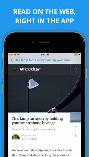 iPhone、iPadアプリ「Newsify: RSS Reader」のスクリーンショット 5枚目