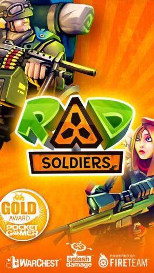 iPhone、iPadアプリ「RAD Soldiers」のスクリーンショット 1枚目