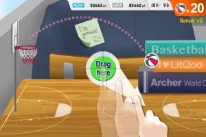 iPhone、iPadアプリ「バスケットワールドカップ  (Basket World Cup)」のスクリーンショット 2枚目