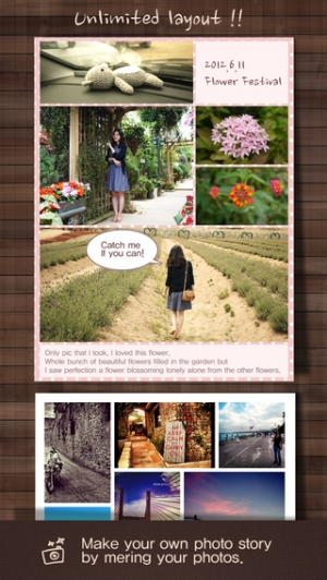 iPhone、iPadアプリ「Frame Artist - Photo Collage Editor, Pic-Frame , Pic Stitch and Play Post Templates & Filter Effect & Frames - 合成写真, コラージュ 作成, 文」のスクリーンショット 2枚目