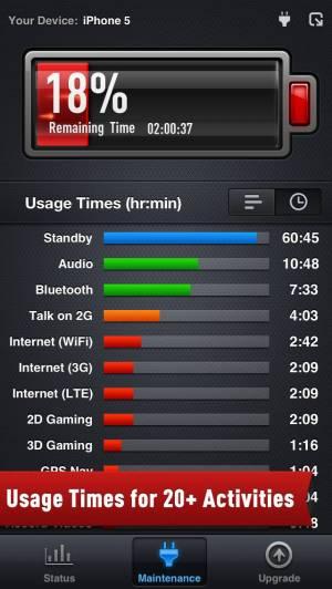 iPhone、iPadアプリ「電池ブースターFree」のスクリーンショット 2枚目