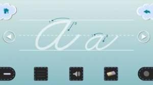iPhone、iPadアプリ「筆記体を書く」のスクリーンショット 2枚目