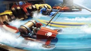 iPhone、iPadアプリ「Slingshot Racing」のスクリーンショット 1枚目