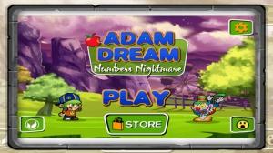 iPhone、iPadアプリ「アダムドリーム : 数の悪夢」のスクリーンショット 1枚目