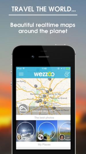 iPhone、iPadアプリ「wezzoo」のスクリーンショット 2枚目