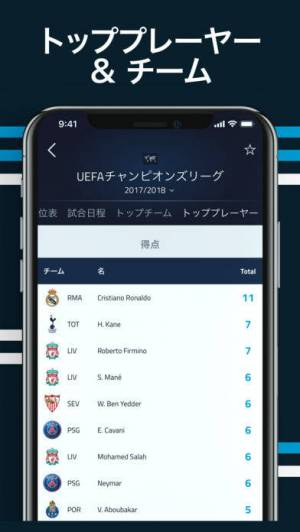 iPhone、iPadアプリ「Goal.com」のスクリーンショット 4枚目
