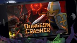 iPhone、iPadアプリ「Dungeon Crasher」のスクリーンショット 1枚目