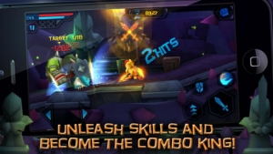 iPhone、iPadアプリ「Dungeon Crasher」のスクリーンショット 5枚目