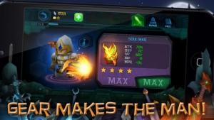 iPhone、iPadアプリ「Dungeon Crasher」のスクリーンショット 2枚目