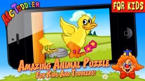 iPhone、iPadアプリ「すばらしい動物パズル子供および幼児のための - Animal Puzzle」のスクリーンショット 2枚目