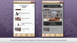 iPhone、iPadアプリ「Yoga with Janet Stone」のスクリーンショット 2枚目