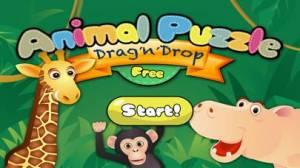 iPhone、iPadアプリ「Animal Puzzle - Drag 'n' Drop」のスクリーンショット 5枚目