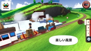 iPhone、iPadアプリ「トッカ・トレイン(Toca Train)」のスクリーンショット 5枚目