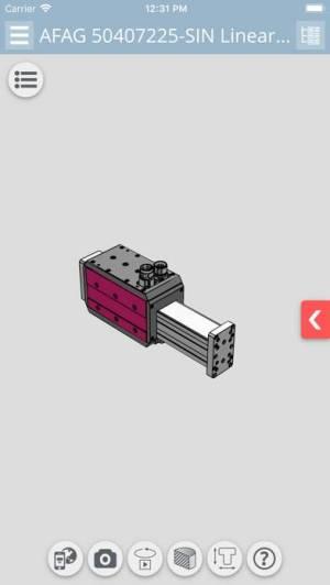 iPhone、iPadアプリ「3D CAD Models エンジニアリング」のスクリーンショット 3枚目