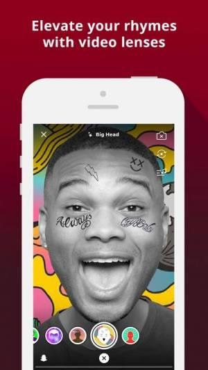 iPhone、iPadアプリ「AutoRap by Smule」のスクリーンショット 3枚目
