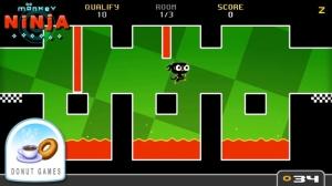 iPhone、iPadアプリ「Monkey Ninja」のスクリーンショット 1枚目