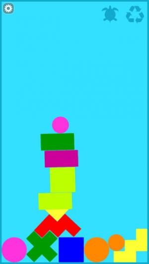 iPhone、iPadアプリ「カラフルつみき - 知育アプリで遊ぼう 子ども・幼児向け無料アプリ」のスクリーンショット 3枚目