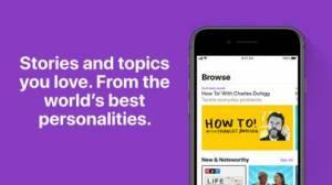 iPhone、iPadアプリ「Apple Podcasts」のスクリーンショット 1枚目