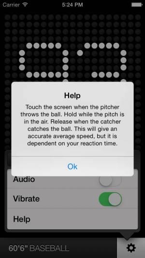 iPhone、iPadアプリ「レーダーガン - Radar Gun」のスクリーンショット 3枚目
