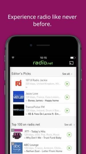 iPhone、iPadアプリ「radio.net PRIME」のスクリーンショット 4枚目
