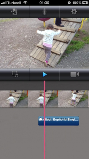 iPhone、iPadアプリ「a MP3 Cutter For iMovie Free (JP)」のスクリーンショット 5枚目