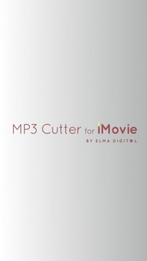 iPhone、iPadアプリ「a MP3 Cutter For iMovie Free (JP)」のスクリーンショット 1枚目