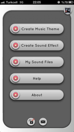 iPhone、iPadアプリ「a MP3 Cutter For iMovie Free (JP)」のスクリーンショット 4枚目