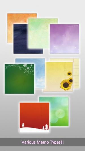 iPhone、iPadアプリ「Real Memo Board」のスクリーンショット 1枚目