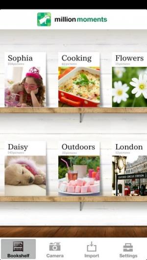 iPhone、iPadアプリ「million moments - おしゃれ写真ビューアー」のスクリーンショット 2枚目