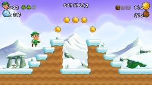 iPhone、iPadアプリ「Lep's World 2 Plus - スーパー最高のプラットフォーマーゲーム」のスクリーンショット 3枚目
