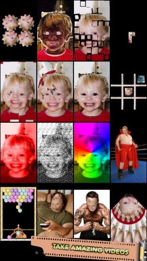 iPhone、iPadアプリ「Mega Photo Pro: 1000+ Real-Time Camera Effects」のスクリーンショット 4枚目