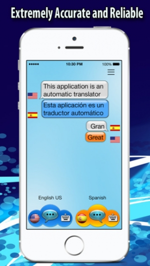 iPhone、iPadアプリ「Voice Translator - On the Fly Translation」のスクリーンショット 1枚目