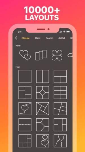 iPhone、iPadアプリ「Collage Maker ◇」のスクリーンショット 2枚目