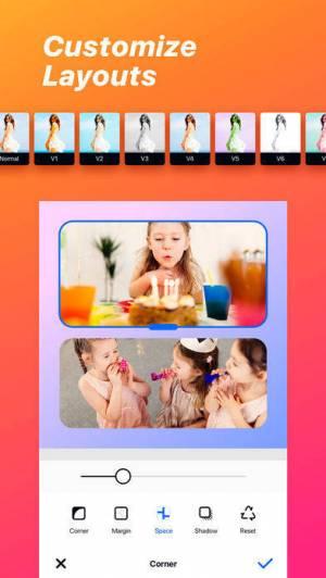 iPhone、iPadアプリ「Collage Maker ◇」のスクリーンショット 3枚目