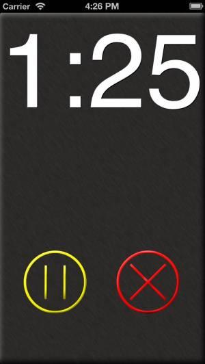 iPhone、iPadアプリ「タイマー‰」のスクリーンショット 1枚目