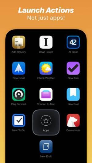 iPhone、iPadアプリ「Launch Center Pro」のスクリーンショット 4枚目