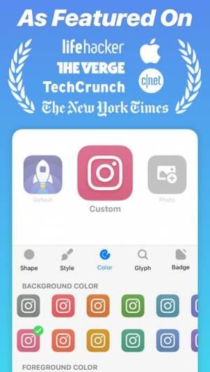 iPhone、iPadアプリ「Launch Center Pro - Icon Maker」のスクリーンショット 2枚目