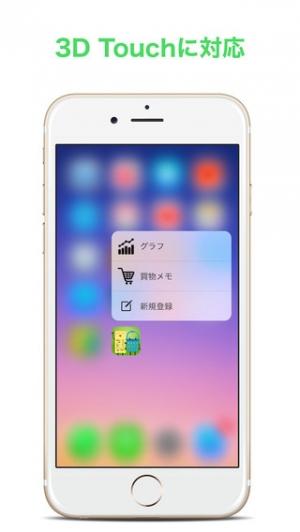 iPhone、iPadアプリ「買物サポート(家計簿サポート)」のスクリーンショット 5枚目
